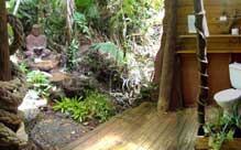 bathroom of your daintree cabin accommodation