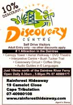discount voucher for daintree discovery centre