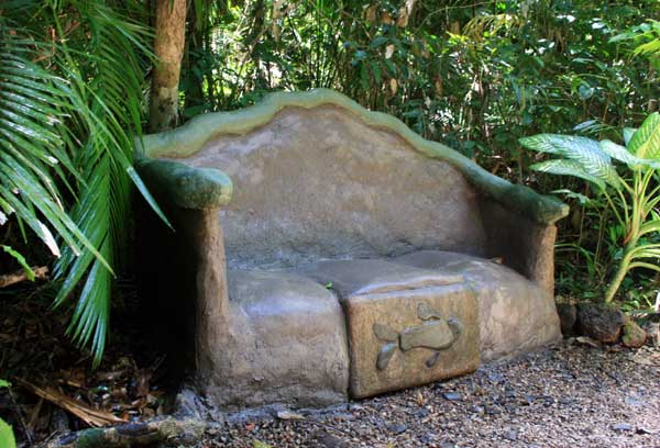 cement sculpture furniture