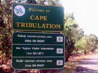 drive past here with your hirecar to cape tribulation
