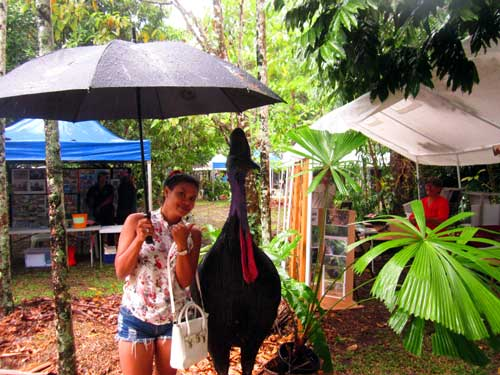 World Cassowary Day in Mission Beach in 2015